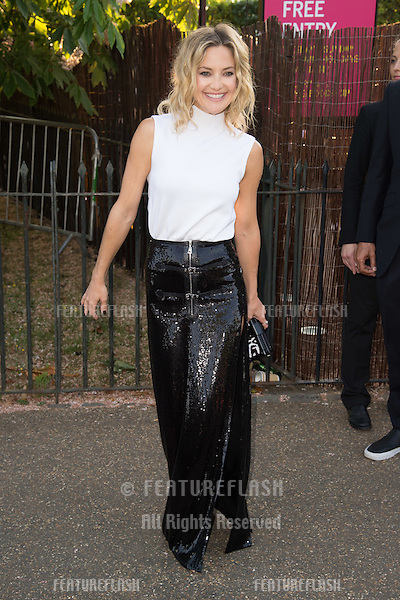 Kate Hudson at The Serpentine Gallery Summer Party 2015 at The Serpentine Gallery, London.<br /> July 2, 2015  London, UK<br /> Picture: Steve Vas / Featureflash