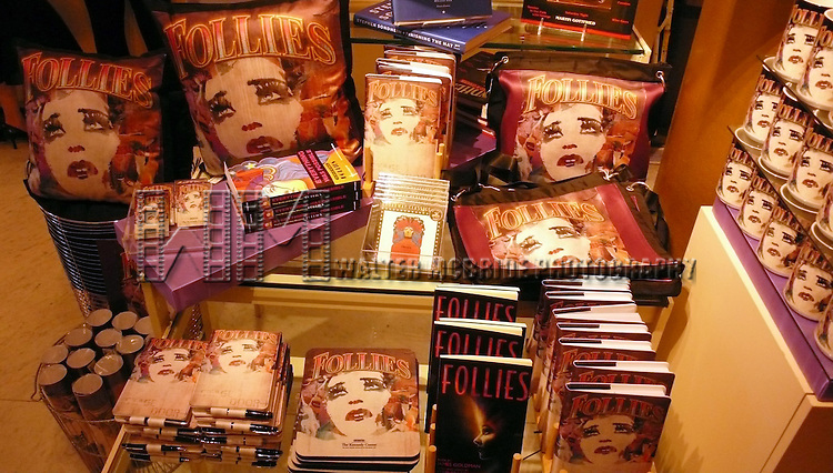 'Follies' Merchandise.After a Performance of 'Follies' at the John F. Kennedy Center for Performing Arts in Washington, D.C.