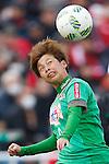 Mina Tanaka (Beleza), MARCH 27, 2016 - Football /Soccer : Plenus Nadeshiko League 2016 between Urawa Reds Ladies 1-1 NTV Beleza at Nishigaoka Stadium in Tokyo, Japan. (Photo by Sho Tamura/AFLO SPORT)