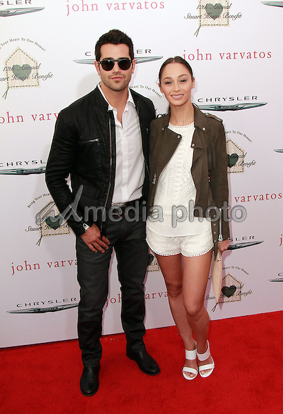 26 April 2015 - Beverly Hills, California - Jesse Metcalfe, Cara Santana. The Chrysler John Varvatos 12th Annual Stuart House Benefit held at John Varvatos Boutique on Melrose Avenue. Photo Credit: Theresa Bouche/AdMedia