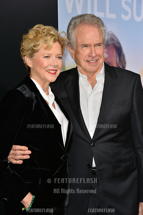 LOS ANGELES, CA. September 13, 2018: Annette Bening &amp; Warren Beatty at the premiere for &quot;Life Itself&quot; at the Cinerama Dome.<br /> Picture: Paul Smith/Featureflash