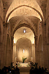 Israel, Jerusalem, Saint Anne Church, a 12th-century Crusader church, erected in honor of the birthplace of Anne (Hannah), the mother of Mary..