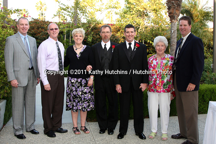 LOS ANGELES - MAY 6:  Frances Beck, Timothy Zoellner, Guests at the Wedding of Frances Beck to Timothy Zoellner at Marriott Hotel & Spa on May 6, 2011 in Newport Beach, CA