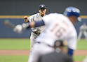 Masahiro Tanaka (Yankees), MAY 9, 2014 - MLB : New York Yankees Masahiro Tanaka pitches during the MLB game between the Milwaukee Brewers and the New York Yankees at Miller Park in Milwaukee, United States. (Photo by AFLO)