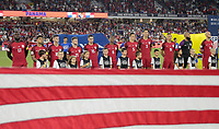 Orlando, FL - Friday Oct. 06, 2017: U.S. Men's National team starting eleven during a 2018 FIFA World Cup Qualifier between the men's national teams of the United States (USA) and Panama (PAN) at Orlando City Stadium.