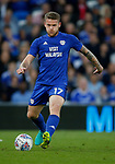 Aron Gunnarsson of Cardiff City during the Championship match at the Cardiff City Stadium, Cardiff. Picture date: August 15th 2017. Picture credit should read: Simon Bellis/Sportimage