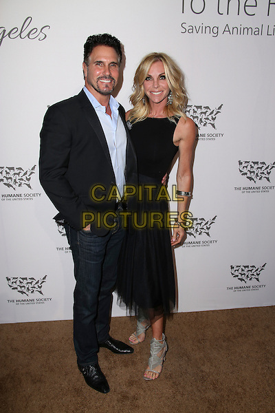 HOLLYWOOD, CA - MAY 07: Cindy Ambuehl, Don Diamont attends The Humane Society of the United States' to the Rescue Gala at Paramount Studios on May 7, 2016 in Hollywood, California.  <br /> CAP/MPI/PA<br /> &copy;PA/MPI/Capital Pictures