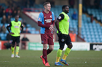 Kevin Van Veen of Scunthorpe Utd <br /> - Scunthorpe United vs Oldham Athletic - Sky Bet League One Football at Glanford Park, Scunthorpe, Lincolnshire - 07/02/15 - MANDATORY CREDIT: Mark Hodsman/TGSPHOTO - Self billing applies where appropriate - contact@tgsphoto.co.uk - NO UNPAID USE