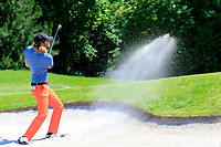Johan Carlsson (SWE) in action during the final round of the Lyoness Open powered by Organic+ played at Diamond Country Club, Atzenbrugg, Austria. 8-11 June 2017.<br /> 11/06/2017.<br /> Picture: Golffile | Phil Inglis<br /> <br /> <br /> All photo usage must carry mandatory copyright credit (&copy; Golffile | Phil Inglis)