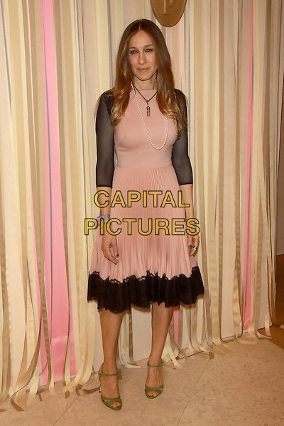 NEW YORK, NY - FEBRUARY 26: Sarah Jessica Parker at her SJP Collection Pop Up Shop Opening at Nordstrom on February 26, 2014 in New York City, NY., USA.<br /> CAP/MPI/RW<br /> &copy;RW/ MediaPunch/Capital Pictures