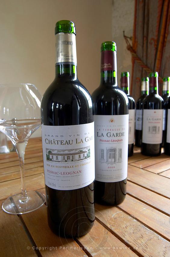 grand vin and 2005 la terrasse de chateau la garde pessac leognan graves bordeaux france