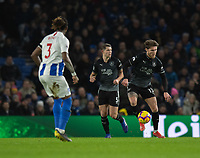 Burnley's Jeff Hendrick (right) <br /> <br /> Photographer David Horton/CameraSport<br /> <br /> The Premier League - Brighton and Hove Albion v Burnley - Saturday 9th February 2019 - The Amex Stadium - Brighton<br /> <br /> World Copyright &copy; 2019 CameraSport. All rights reserved. 43 Linden Ave. Countesthorpe. Leicester. England. LE8 5PG - Tel: +44 (0) 116 277 4147 - admin@camerasport.com - www.camerasport.com