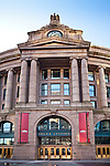 South Station (1899, Shepley, Rutan and Coolidge) is one of New England's largest intermodal transportation facilities and an architestural landmark in Boston, MA, USA