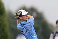 Connor Syme (SCO) tees off the 16th tee during Saturday's Round 3 of the Porsche European Open 2018 held at Green Eagle Golf Courses, Hamburg Germany. 28th July 2018.<br /> Picture: Eoin Clarke | Golffile<br /> <br /> <br /> All photos usage must carry mandatory copyright credit (&copy; Golffile | Eoin Clarke)
