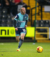 Michael Harriman of Wycombe Wanderers during the Sky Bet League 2 match between Notts County and Wycombe Wanderers at Meadow Lane, Nottingham, England on 10 December 2016. Photo by Andy Rowland.