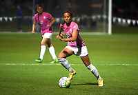 Kansas City, MO - Friday May 13, 2016: FC Kansas City forward Frances Silva (11) against the Chicago Red Stars during a regular season National Women's Soccer League (NWSL) match at Swope Soccer Village. The match ended 0-0.