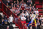 S&ouml;dert&auml;lje 2014-01-06 Ishockey Hockeyallsvenskan S&ouml;dert&auml;lje SK - Malm&ouml; Redhawks :  <br />  S&ouml;dert&auml;lje supporter fans publik supporters p&aring; klacksektionen i Axa Sports Center<br /> (Foto: Kenta J&ouml;nsson) Nyckelord: