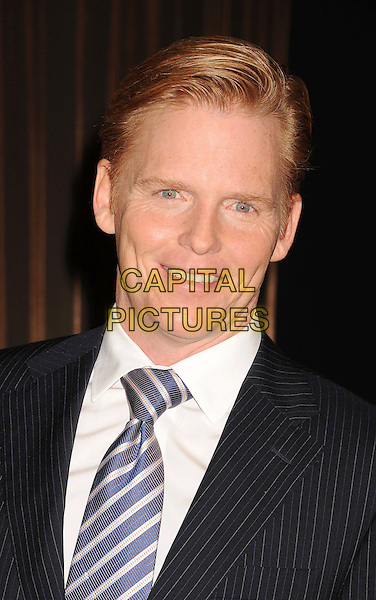 Ned Vaughn.19th Annual Screen Actors Guild Awards Nominations Announcement held at the Pacific Design Center, West Hollywood, California, USA..December 12th, 2012.SAG headshot portrait blue stripe tie black suit jacket white shirt .CAP/ROT/TM.©Tony Michaels/Roth Stock/Capital Pictures