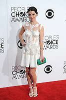 Adelaide Kane at the 2014 People's Choice Awards at the Nokia Theatre, LA Live.<br /> January 8, 2014  Los Angeles, CA<br /> Picture: Paul Smith / Featureflash