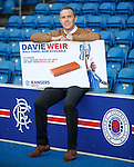David Weir is the latest Rangers legend to be honoured with a Brick Panel created by The Rangers Youth Development Company.