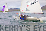 Fenit sailor Tadhg O? Loingsigh competing in the Inter Club Regatta in Cahersiveen on Saturday.