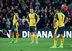 Arsenal's Mesut Ozil looks on dejected after going 1-0 down during the Premier League match at Selhurst Park Stadium, London. Picture date: April 10th, 2017. Pic credit should read: David Klein/Sportimage