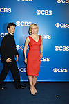 Blue Bloods Will Estes, Amy Carlson (Another World), Len Cariou, Bridget Moynahan, Tom Selleck - CBS Upfront 2012 at the Tent in Lincoln Center, New York City, New York. (Photo by Sue Coflin/Max Photos)