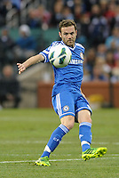 Juan Mata (10) Chelsea in action..Manchester City defeated Chelsea 4-3 in an international friendly at Busch Stadium, St Louis, Missouri.