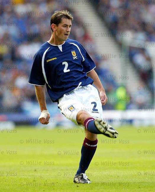 Jackie McNamara, Scotland.stock season 2003-04..pic willie vass