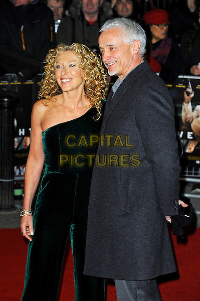 LONDON, ENGLAND - JANUARY 11: Kelly Hoppen and John Gardiner attending the 'Live By Night' premiere at BFI Southbank on January 11, 2017 in London, England.<br /> CAP/MAR<br /> &copy;MAR/Capital Pictures