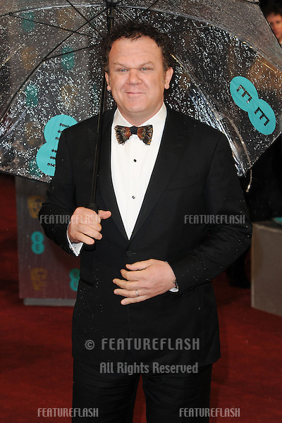 John C Reilly arriving for the EE BAFTA Film Awards 2013 at the Royal Opera House, Covent Garden, London. 10/02/2013 Picture by: Steve Vas / Featureflash
