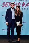 "Nacho Fernandez and Maria Cortes attends to ""El Corazon De Sergio Ramos"" premiere at Reina Sofia Museum in Madrid, Spain. September 10, 2019. (ALTERPHOTOS/A. Perez Meca)"