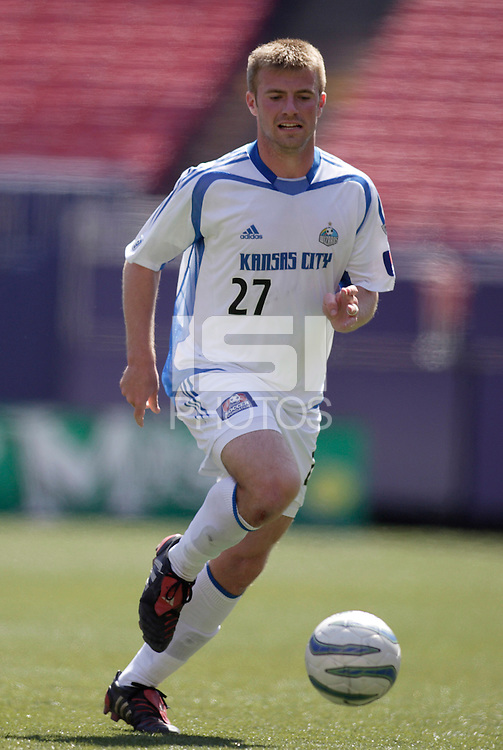 The Wizards' Justin Detter.  The MetroStars and the Kansas City Wizards reserve squads played to a scoreless tie in their first MLS reserve league game at Giant's Stadium, East Rutherford, NJ, on Sunday April 17, 2005.