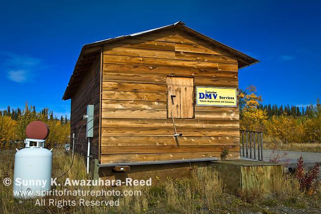 The Smallest DMV, Glenallen, Alaska