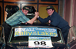 Austin McHale and Bertie Fisher at Rally of the Lakes.<br /> Picture by Don MacMonagle<br /> e: info@macmonagle.com