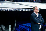 FC Viktoria Plzen coach Pavel Vrba during UEFA Champions League match between Real Madrid and FC Viktoria Plzen at Santiago Bernabeu Stadium in Madrid, Spain. October 23, 2018. (ALTERPHOTOS/Borja B.Hojas)