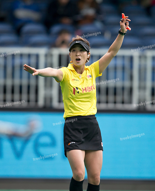 23/06/2015<br /> HWL Semi Final Antwerp Belgium 2015<br /> New Zealand v India Women<br /> <br /> Photo: Grant Treeby