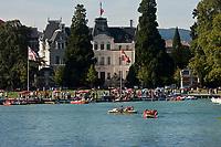 Europe/France/Rhône-Alpes/74/Haute-Savoie/Annecy: Les bords du Lac et l' Hôtel de Ville