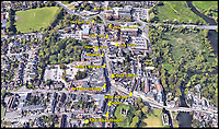 BNPS.co.uk (01202 558833)<br /> Pic:  Google/BNPS<br /> <br /> Google Maps image of the High Street in Christchurch showing the abundance of coffee outlets.<br /> <br /> A retirement town that is overspilling with coffee shops is to get its 15th after officials lost their bid to put a lid on them.<br /> <br /> Councillors in Christchurch, Dorset, refused a Coffee#1 permission to take over an empty shop because the town had too many cafes.<br /> <br /> But the national chain appealed the decision and have won their case.<br /> <br /> It means there will now be 15 coffee shops in a 500 metre stretch of the High Street - or one every 33 metres.