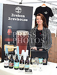 Rhona Smith from Brehon Brewhouse at the Taste of Togher food festival at Linnduchaill resturant in the Glyde inn Annagassan. Photo:Colin Bell/pressphotos.ie