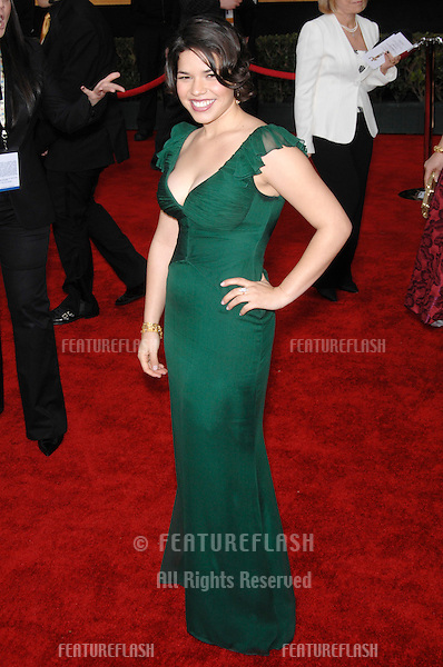 AMERICA FERRERA at the 13th Annual Screen Actors Guild Awards at the Shrine Auditorium..January 28, 2007 Los Angeles, CA.Picture: Paul Smith / Featureflash