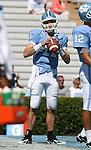 02 September 2006: UNC's Cam Sexton. The University of North Carolina Tarheels lost 21-16 to the Rutgers Scarlett Knights at Kenan Stadium in Chapel Hill, North Carolina in an NCAA Division I College Football game.