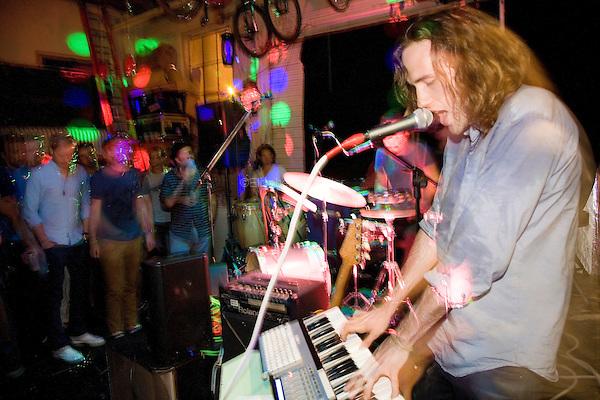 Ichicuts play Union Garage in Brooklyn, NY on July 13, 2013.