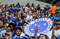 BELO HORIZONTE,MG, 29.11.2015 – CRUZEIRO-JOINVILLE – Torcida do Cruzeiro durante partida contra o Joinville, em jogo válido pela trigésima sétima rodada do Campeonato Brasileiro, no Estádio Governador Magalhães Pinto - Mineirão, em Belo Horizonte, neste domingo, 29. (Foto: Doug Patrício/Brazil Photo Press)