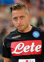 Emanuele Giaccherini during the friendly soccer match,between SSC Napoli and Onc Nice      at  the San  Paolo   stadium in Naples  Italy , August 01, 2016<br />  during the friendly soccer match,between SSC Napoli and Onc Nice      at  the San  Paolo   stadium in Naples  Italy , August 02, 2016