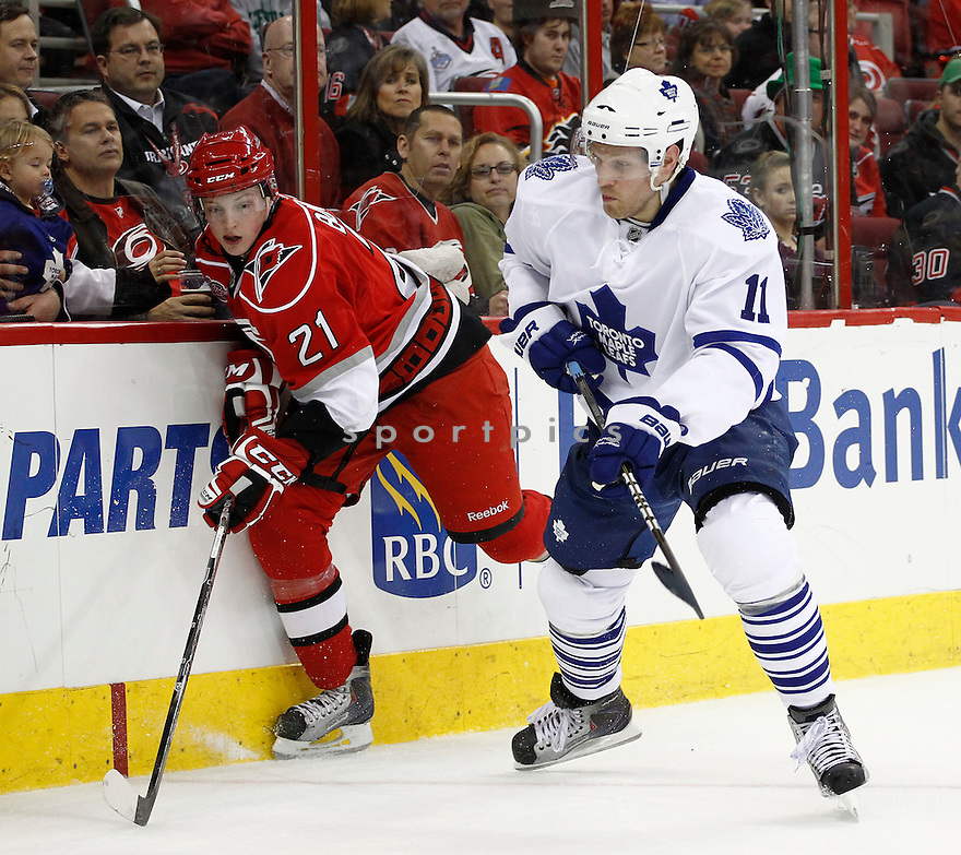 FREDRIK SJOSTROM, of the Toronto Maple Leafs.