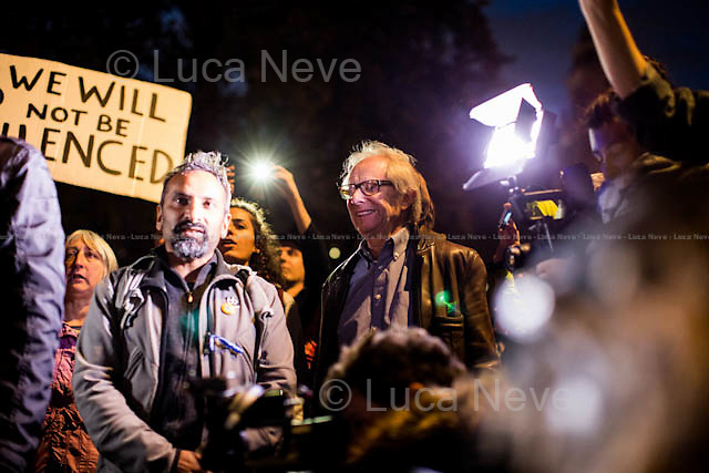 Ken Loach (English film and television director).<br />