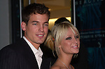 Jason Shaw and Paris Hilton arrive at a benefit in Manhattan on October 17, 2001.