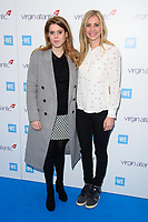 Princess Beatrice and Holly Branson<br /> arriving for WE Day 2018 at Wembley Arena, London<br /> <br /> ©Ash Knotek  D3386  07/03/2018