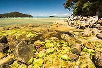 Stilwell Bay on Abel Tasman Coastal Track, Abel Tasman National Park, Nelson Region, New Zealand
